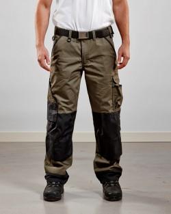 Pantalon paysagiste Blåkläder vert armée/noir