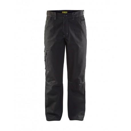 Pantalon industrie poly-recyclé noir