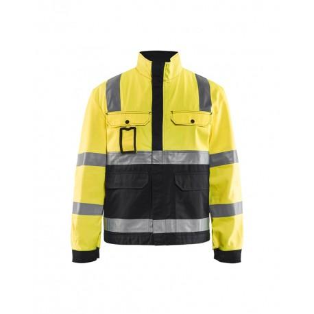 Veste haute visibilité Blaklader jaune/noir