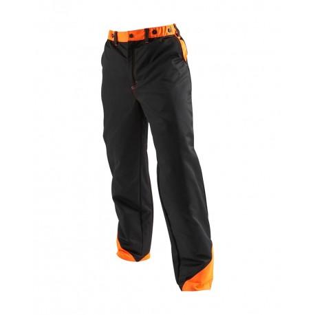 Pantalon protection tronçonneuse Blaklader noir/orange