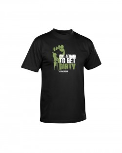 T-shirt Blaklader Not Afraid To Get Dirty - serie limité