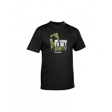 T-shirt Blaklader Not Afraid To Get Dirty - serie limité