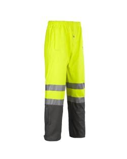 Pantalon de pluie haute visibilité North Ways GRIFFIS jaune