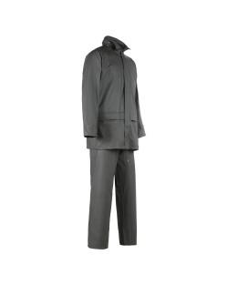 Ensemble de pluie unisexe veste et pantalon GUPPY olive