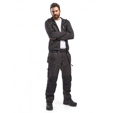 Pantalon X1900 artisan artisan Cordura NYCO gris foncé