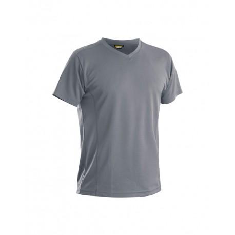 T-shirt anti-UV anti-odeur gris