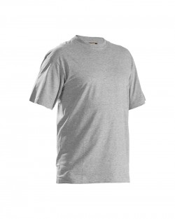 T-Shirts col rond Pack x5 Gris