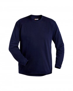 Sweatshirt col rond marine