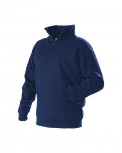 Sweatshirt col camionneur marine