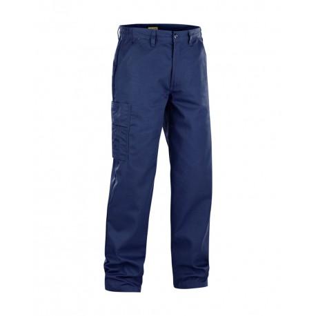 Pantalon industrie coton sanforisé marine