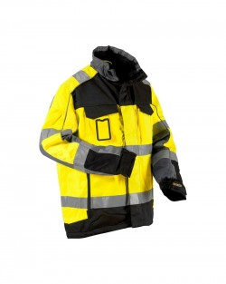 Veste Transport Hiver jaune/noir
