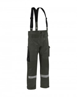 Pantalon de pluie à bretelles