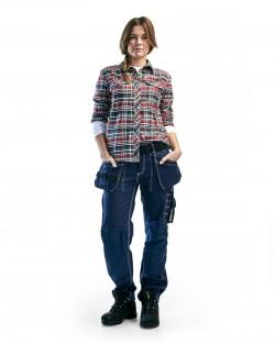 Pantalon Artisan Blåkläder Femme