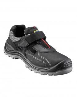 Sandales de sécurité noir scratch Blaklader