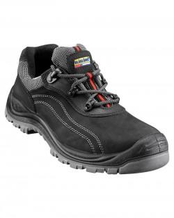 Chaussures de sécurité basse embout large noir
