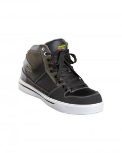 Chaussures de sécurité grande cheville noir