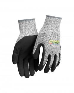 Gant de travail anti-coupure Noir/Gris mélangé