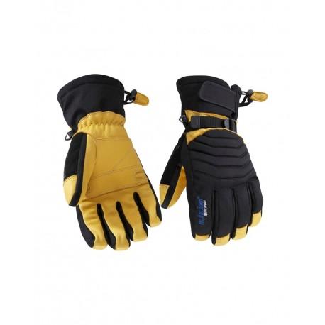 Gant de travail hiver thinsulate noir/jaune