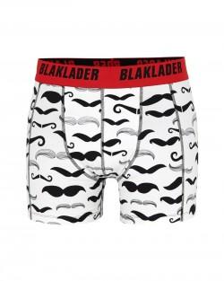 Boxer pack x2 Blanc/Rouge Blaklader