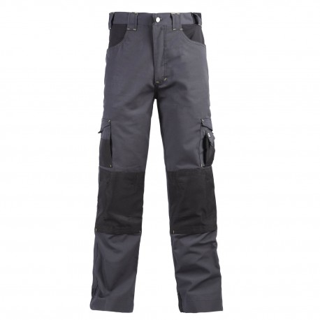 Pantalon de travail ADAM gris noir