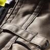 Pantalon de travail multipoches ANTRAS beige/noir
