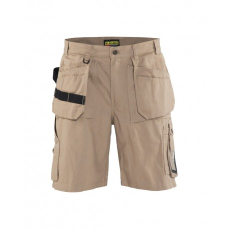 Short artisan 100% coton Beige Antique Blaklader‎