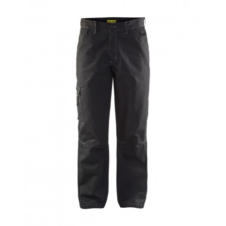 Pantalon industrie poly-recyclé noir