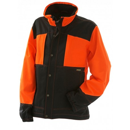 Veste bucheron Blaklader orange/noir