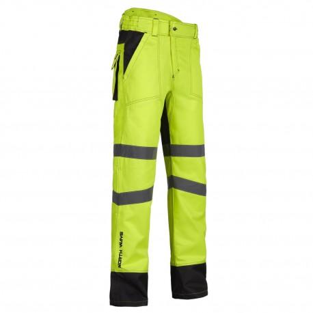 Pantalon haute visibilité North Ways Bellus  jaune fluo
