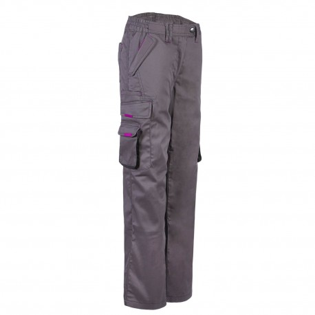 Pantalon de travail femme North Ways 1450 gris