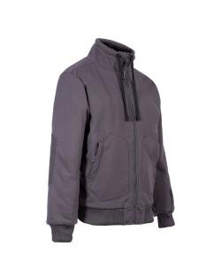 Gilet double fourrure North Ways BLERIOT 1446 gris
