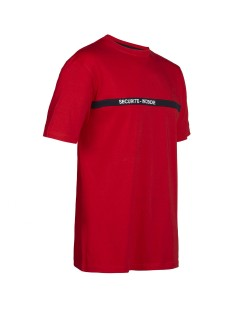 Tee shirt sécurité incendie North Ways BOND 8600 rouge