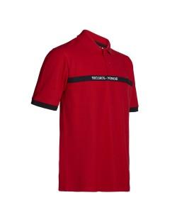 Polo sécurité incendie North Ways Craig 8601 rouge