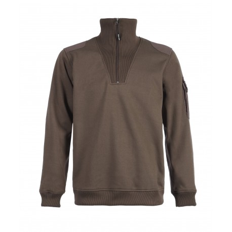 Pull col camionneur North Ways LARGO choco