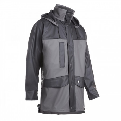 Veste de pluie Flexydry unisexe North Ways Moray 9224 gris/noir