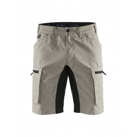 Short services stretch beige/noir Blaklader