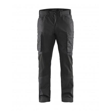 Pantalon services stretch Blåkläder gris foncé/noir