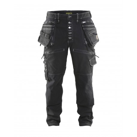 noir Pantalon X1900 artisan CORDURA® DENIM stretch 2D