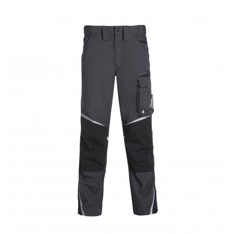 1390-gris Pantalon multipoches Nieuport NORTH WAYS