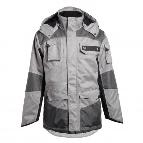 Gris - Parka matelassée Guillaumet NORTH WAYS