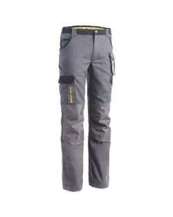 Pantalon de travail Cary North Ways Gris noir