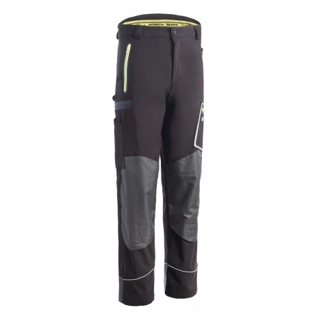 Pantalon softshell Wapiti  North Ways noir
