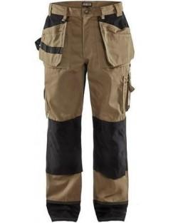 Pantalon de travail Blåkläder Beige / Noir taille française 44 et 46 - offre exceptionnelle