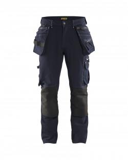 marine-noir Pantalon X1900 artisan stretch 4D