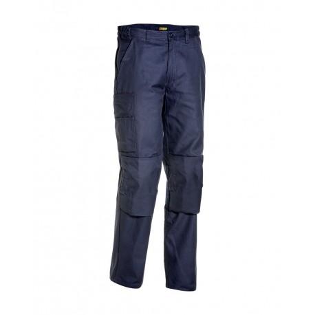 Pantalon Industrie Poches Genouillères marine