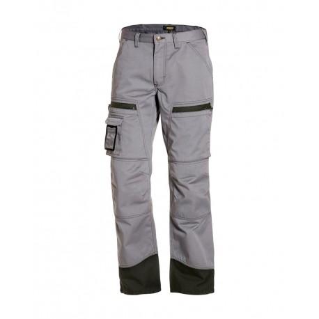 Pantalon chauffeur gris/noir