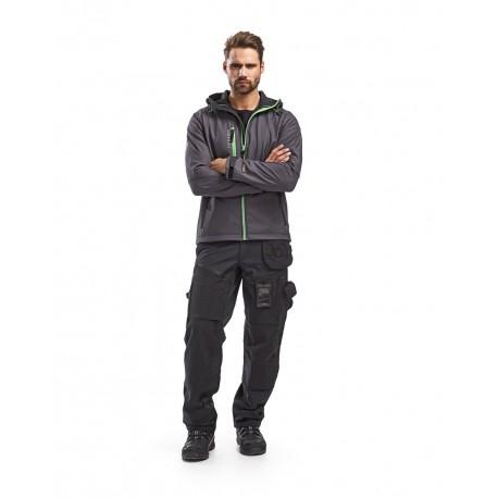 Pantalon X1500 softshell noir