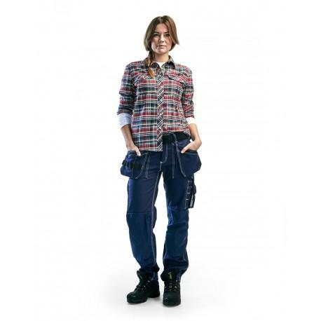 Pantalon Artisan Femme marine