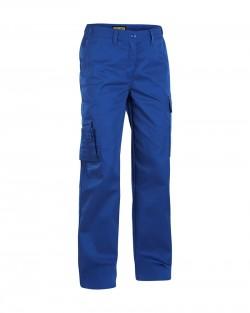 Pantalon services femme bleu roi
