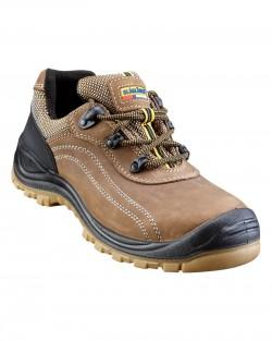 Chaussures de sécurité basse maron